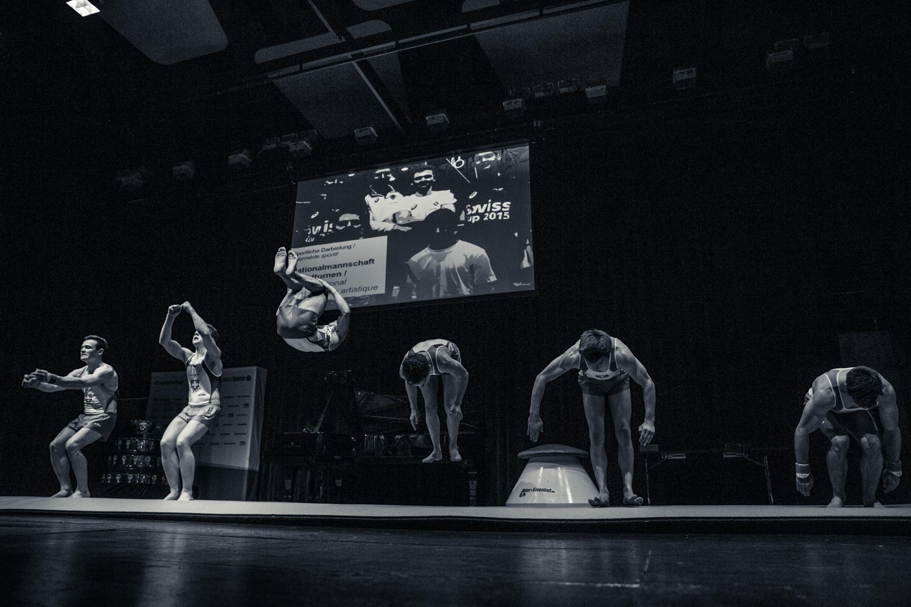 Nationalkader Kunstturnen / cadre national gymnastique artistique